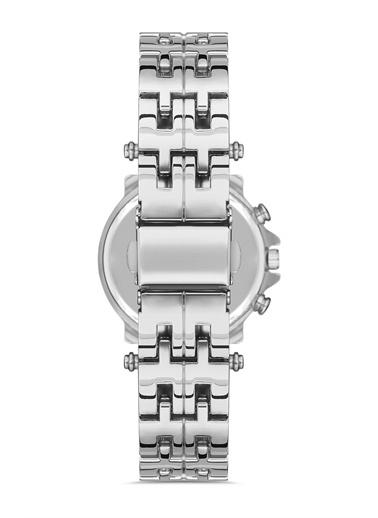 Madamra  Kadın Metal Kordon Kol Saati Gümüş